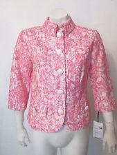 $698 WORTH New York Jacket sz 2 NWT Azalea and White Lace Print Spring Summer