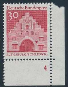 Bund Nr. 493 FN postfrisch/**, Eckrand Ecke 4 Formnummer 4 (50287)