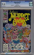 Muppet Babies #1 CGC 9.6 NM+ Marvel Star Comics 1985 Popular Jim Henson TV Show