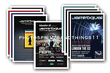 JAMIROQUAI  - 10 promotional posters - collectable postcard set # 1