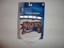 NBA PHILADELPHIA 76ERS PET Adjustable COLLAR BANDANA Size LARGE Embiid SIMMONS