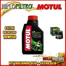 KIT TAGLIANDO 4LT OLIO MOTUL 5100 10W50 SUZUKI VL800 K1,K2,K3,K4 Intruder LC Vol
