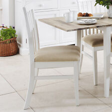 FLORENCE High back upholstered chair, Quality White cushion kitchen dining chair