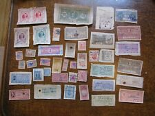 Princely Indian India State Revenue Lot D - 41 Different Stamps - See pics!