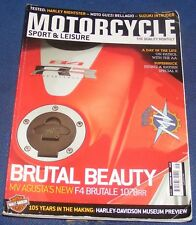 MOTORCYCLE SPORT & LEISURE SEPTEMBER 2008 NO:576 - BRUTAL BEAUTY