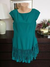 Ladies COAST green Dress Size 16