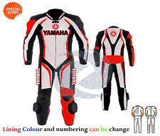 Motorcycle Leather racing suit Yamaha racing leather suit in one or two piece