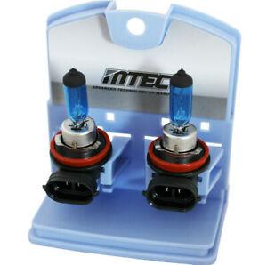 2x Original MTEC H8 35W 4350K Super White HID Halogen Bulbs Lamp Light Headlight