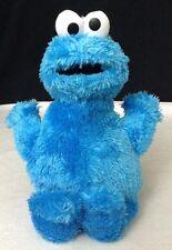 "Sesame Street Cookie Monster 11"" Plush Hasbro 2010 EUC"