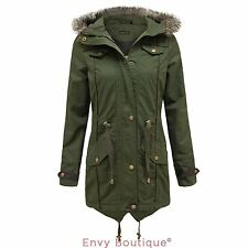 Womens barbour brighton waxed parka jacket