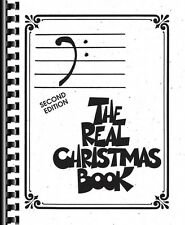The Real Christmas Book Bass Clef Edition Real Book Fake Book NEW 000240347