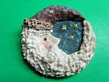 1998 Enesco Belsnickle Linda Baldwin Santa Moon Stars Christmas Pin (10)