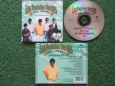 LOS PASTELES VERDES DEL PERU **Lo Mejor y Lo Nuevo** FERNANDO ARIAS USA 2000 CD