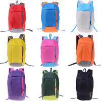 Sports Backpack Hiking Rucksack Men Women Unisex Schoolbags Satchel Handbag UTPI