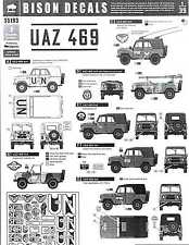 Bison Decals 1/35 Russian UAZ 469 All Terrain Vehicle