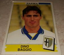 FIGURINA CALCIATORI PANINI 1994/95 PARMA BAGGIO ALBUM 1995