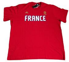 """adidas """"FFB R TEE"""" Basketball Herren T-Shirt Oberteil rot Gr. 3XL XXXL"""