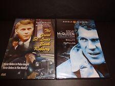 GREAT ST LOUIS BANK ROBBERY w/BULLITT-PAPILLON Dbl Feature-2 DVDs-STEVE MCQUEEN