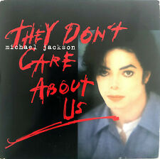 Michael Jackson CD Single They Don't Care About Us - Europe (VG+/EX)