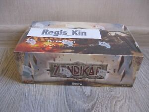 MTG ZENDIKAR Russian Sealed Booster Box First Run - 2009 - Regis_Kin