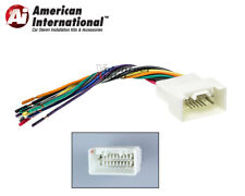 Mitsubishi Car Stereo CD Player Wiring Harness Wire Aftermarket Radio Install
