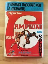 ALBUM PANINI CAMPIONI DELLO SPORT 1970/71 COMPLETO - 19  EDICOLA   !!