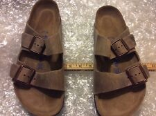 BIRKENSTOCK ARIZONA MOCCA SOFT FOOTBED WOMEN'S U.S.11M(NORMAL)EU 42 MEN'S 9 (490