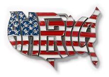Gürtelschnalle USA Buckle Gürtel Schnalle Belt America Amerika stars and stripes