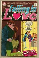 Falling In Love #110-1969 vg 4.0 DC Romance / Vince Colletta