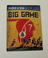 1934 Big Game Cal/Stanford Program