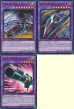Red-Eyes Black Dragon Sword + Rocket Hermos Cannon + Mirror Force Dragon LEDD