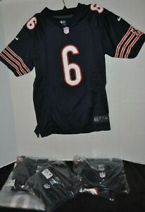 Youth Large Jay Cutler Chicago Bears Navy Nike Nike On-Field Game Jersey