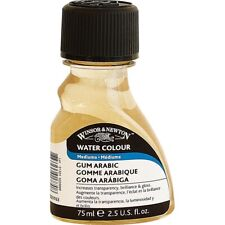 Winsor & Newton Gum Arabic Watercolour Medium,Watercolour 75ml 2.5oz New! *SALE*