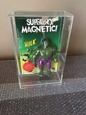 """VINTAGE  MARVEL HULK MAGNETIC RARE 1979 Hong Kong 6.7"""" Figure MEGO Super Heroes"""