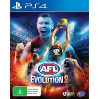AFL EVOLUTION 2 PS4 Playstation 4 Brand New Sealed