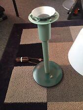 VINTAGE MID CENTURY Gerald Thurston Lightolier Table Lamp Plastic Shade Diffuser
