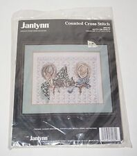 "Janlynn NEW Stoney Creek Kitty on Shelf 14""x11"" Picture Counted Cross Stitch Kit"