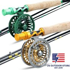 Fly Fishing Rod Combo Carbon Fiber Ultralight Weight Fly Fishing Rod Fly Reel