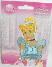 """Disney CINDERELLA Embroidered iron-on Patch New 3 7/8"""""""