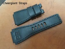 Bell & Ross leather strap either 26x24mm fit BR-02 or 24x24mm fits BR-01 & BR-03