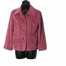 J. Jill Women's Pink Blazer Jacket w Elbow Patches Petite Size XSP