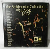 THE SMITHSONIAN COLLECTION OF CLASSIC JAZZ 1973 (P611891) 6 LP's BOX SET VG/EX!!