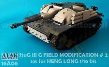 1/16 ATAK MODEL 16A06 GERMAN StuG III G FIELD MODIFICATION #2 for HENG LONG