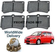 FOR MAZDA DEMIO 1.3i 1.5i 1998-2003 NEW FRONT BRAKE DISC PADS SET