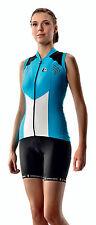 Women's CYCLING Jersey Sleeveless ETXEONDO Hiruki in Blue (made in Spain)