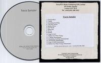 TRAVIS Sampler + Instrumentals 2008 UK 16-trk promo only publishing CD Sony/ATV