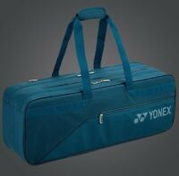 2020 YONEX Active Rectangular Tournament Racquet Bag BA82031BEX, Peacock Blue