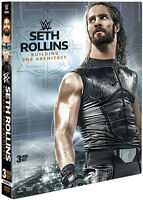 Wwe: Seth Rollins - Building The Architect - 3 DISC SET (2017, DVD New)