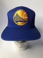 adidas Golden State warriors Cap hat SnapBack Adjustable Blue NBA Great Conditio