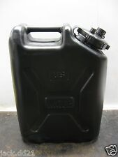 NEW Scepter 5 Gallon gal Water Can Jug Sporting Outdoor Jerry Military Black NEW
